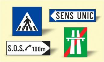Indicatoare rutiere de Informare