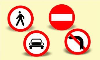 Indicatoare rutiere de interzicere sau restictie